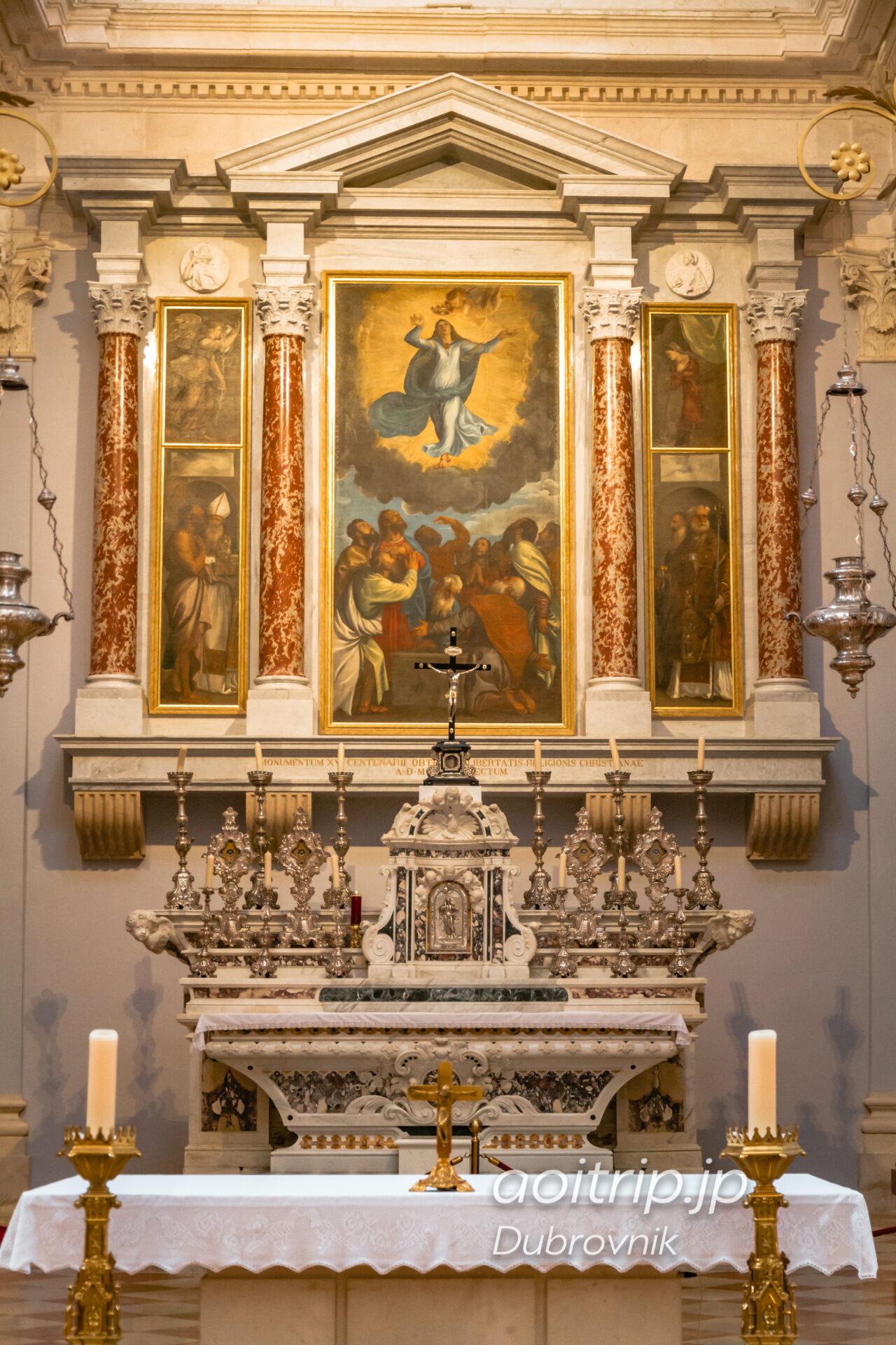 ドゥブロヴニク 聖母被昇天大聖堂