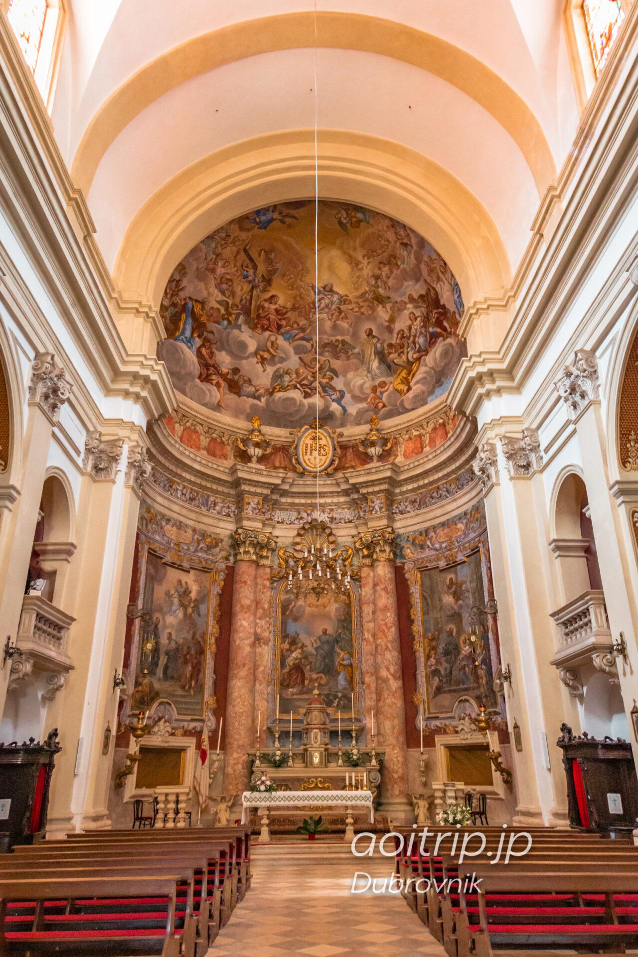 ドブロブニク 聖イグナチオ教会