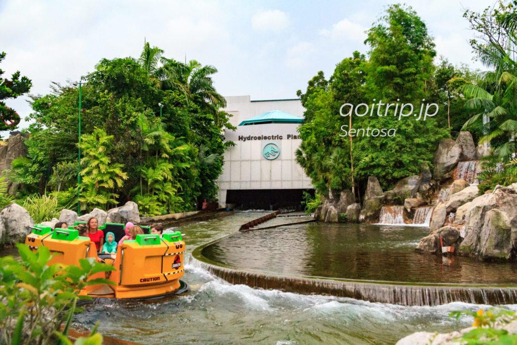 ユニバーサルスタジオシンガポール ジュラシックパーク