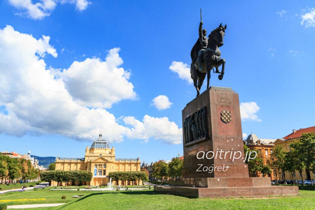 ザグレブ トミスラヴ王広場