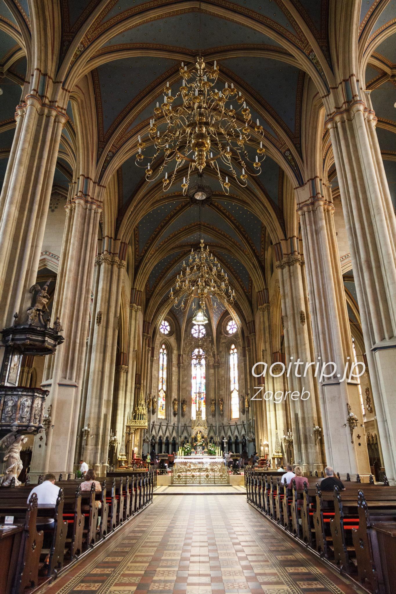 ザグレブ大聖堂 内部