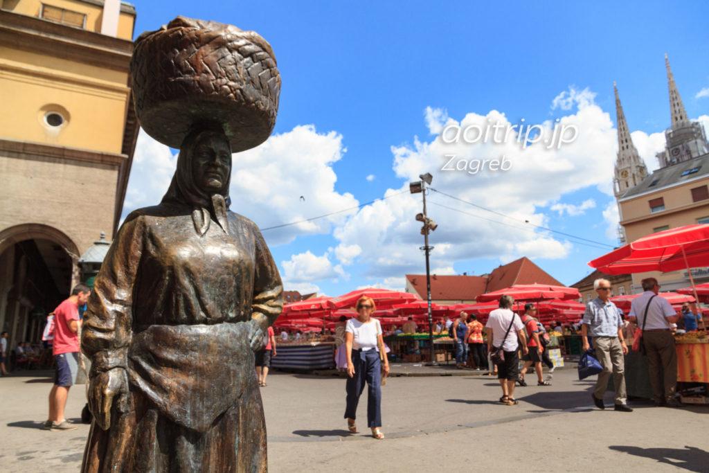 ザグレブ 青果広場