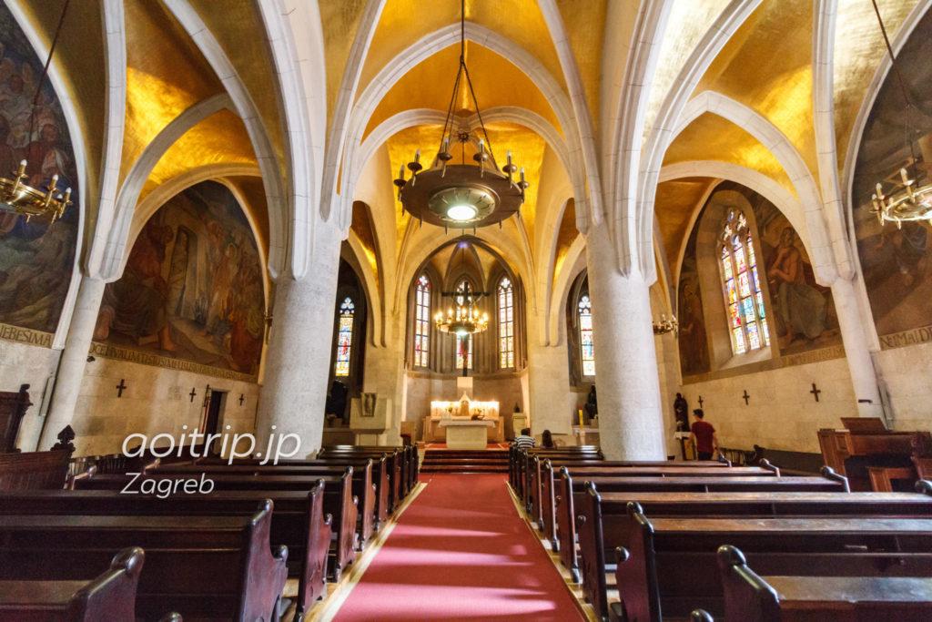 聖マルコ教会内部