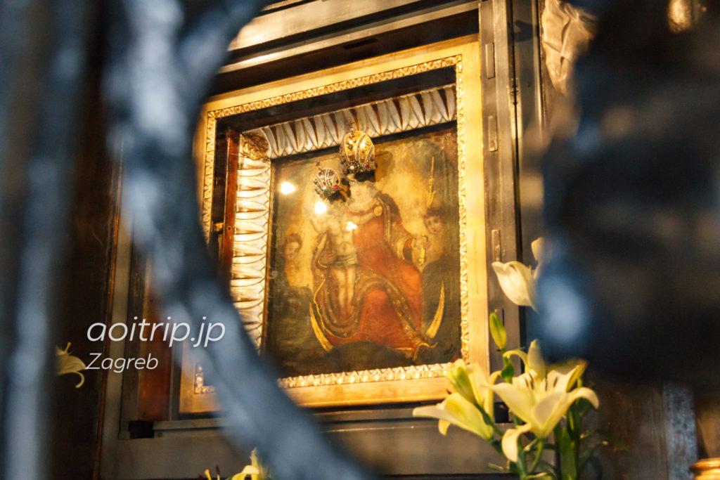 ザグレブ 石の門 聖母マリアの絵画