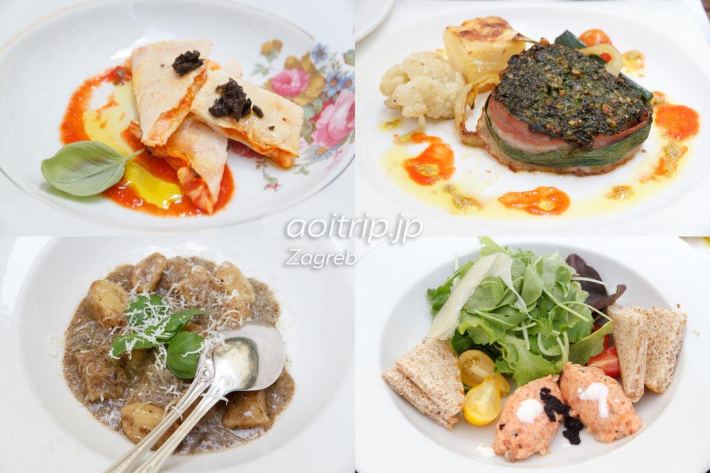 Zagreb Galloの料理