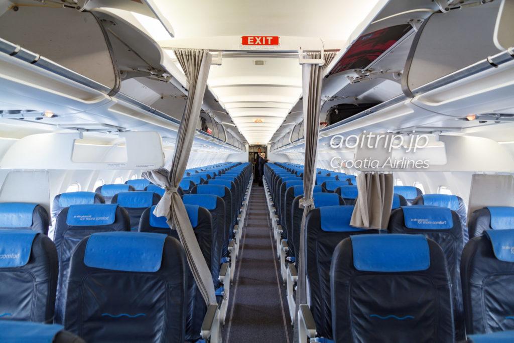 クロアチア航空 機内