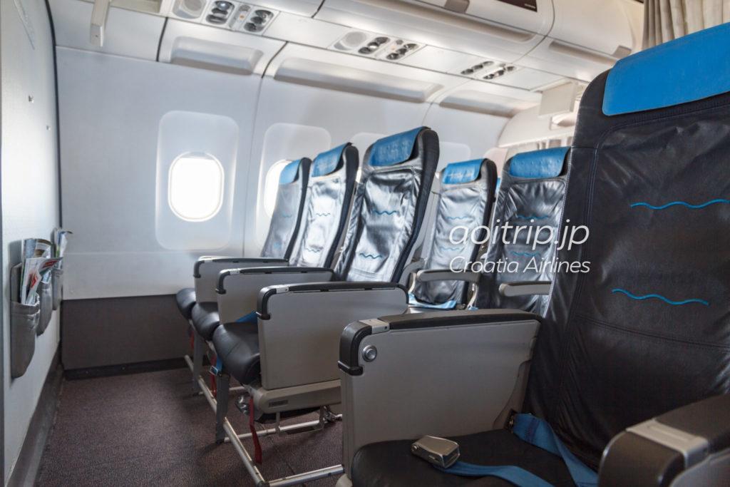 クロアチア航空 ビジネスクラスの座席