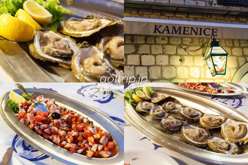 ドゥブロヴニク カメニツェ 牡蠣