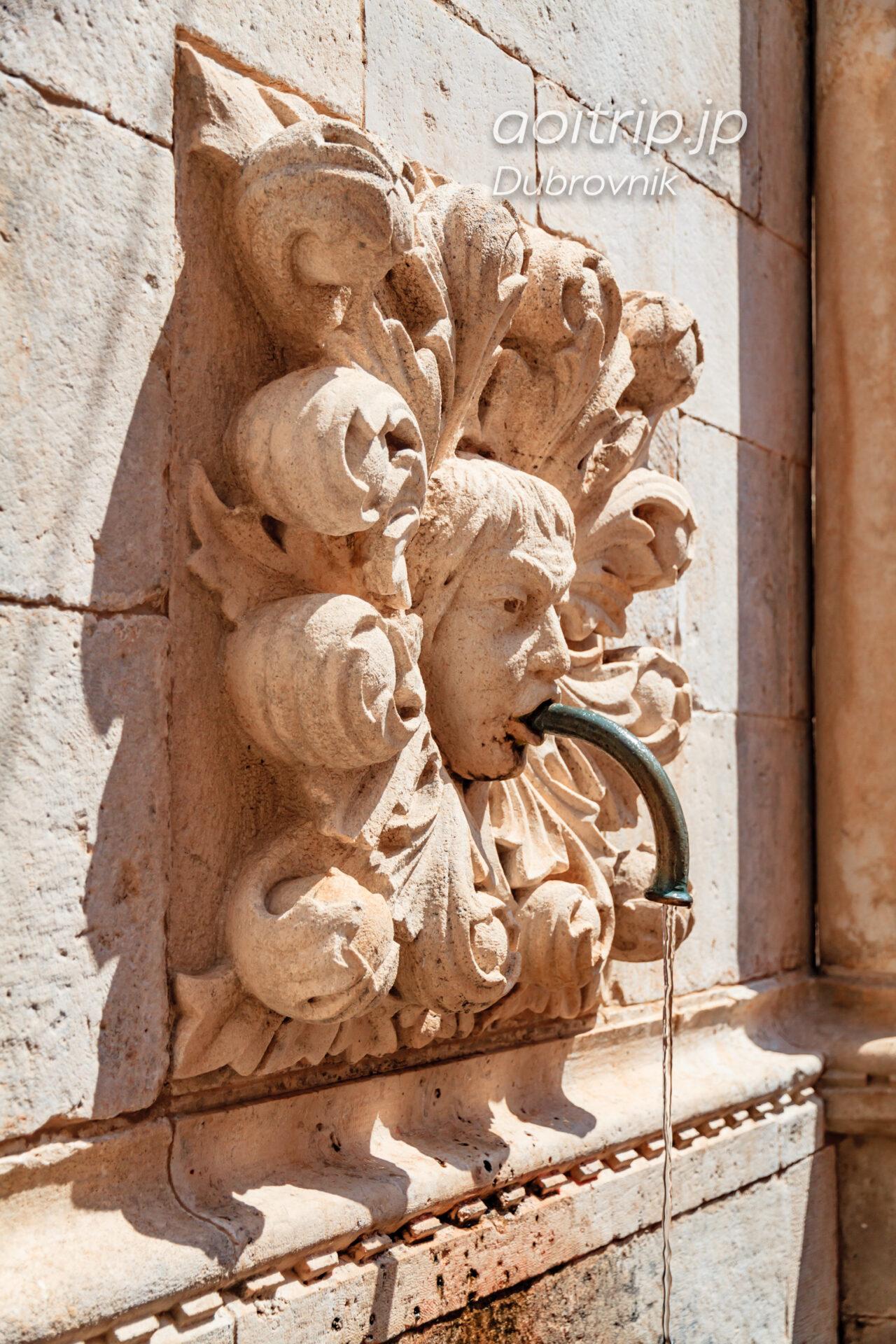 オノフリオの大噴水(Velika Onofrijeva fontana)