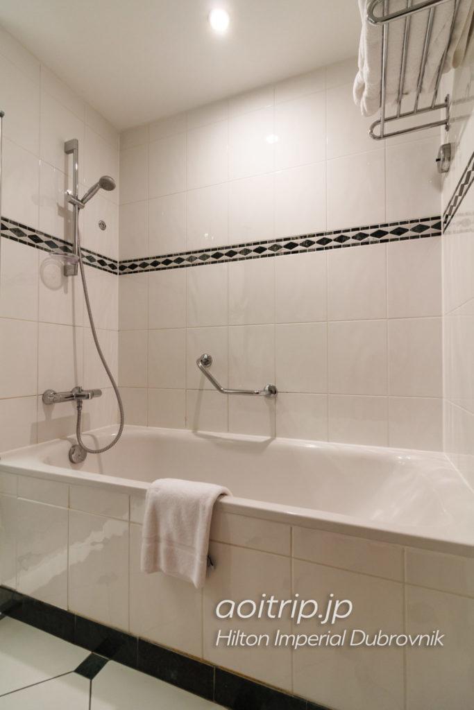 ヒルトンインペリアルドゥブロヴニク バスルーム