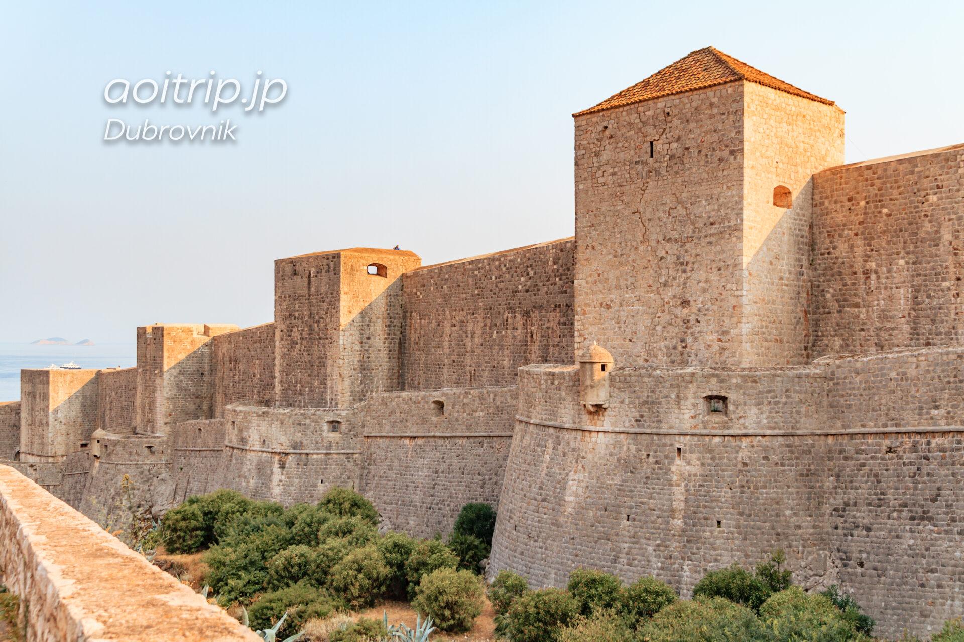 ドゥブロヴニクの城壁