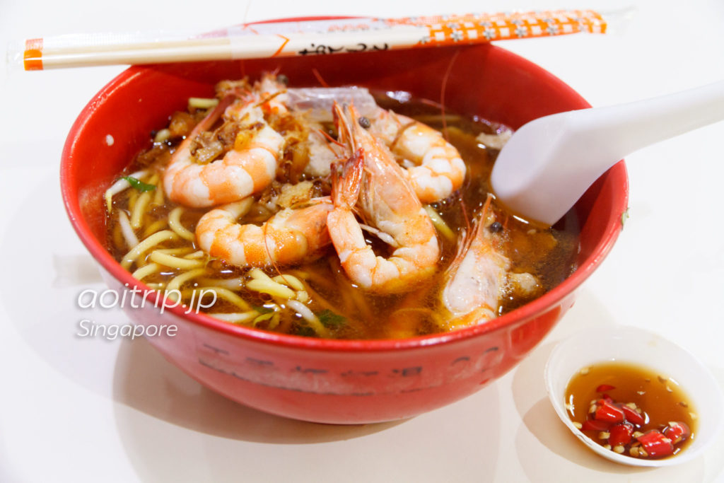 纽顿天香大虾面 Newton Tian Xiang Big Prawn Noodle