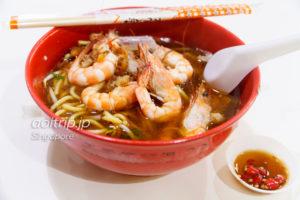 纽顿天香大虾面 Newton Tian Xiang Big Prawn Noodle