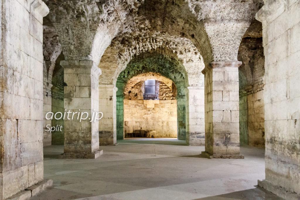 スプリト ディオクレティアヌス宮殿