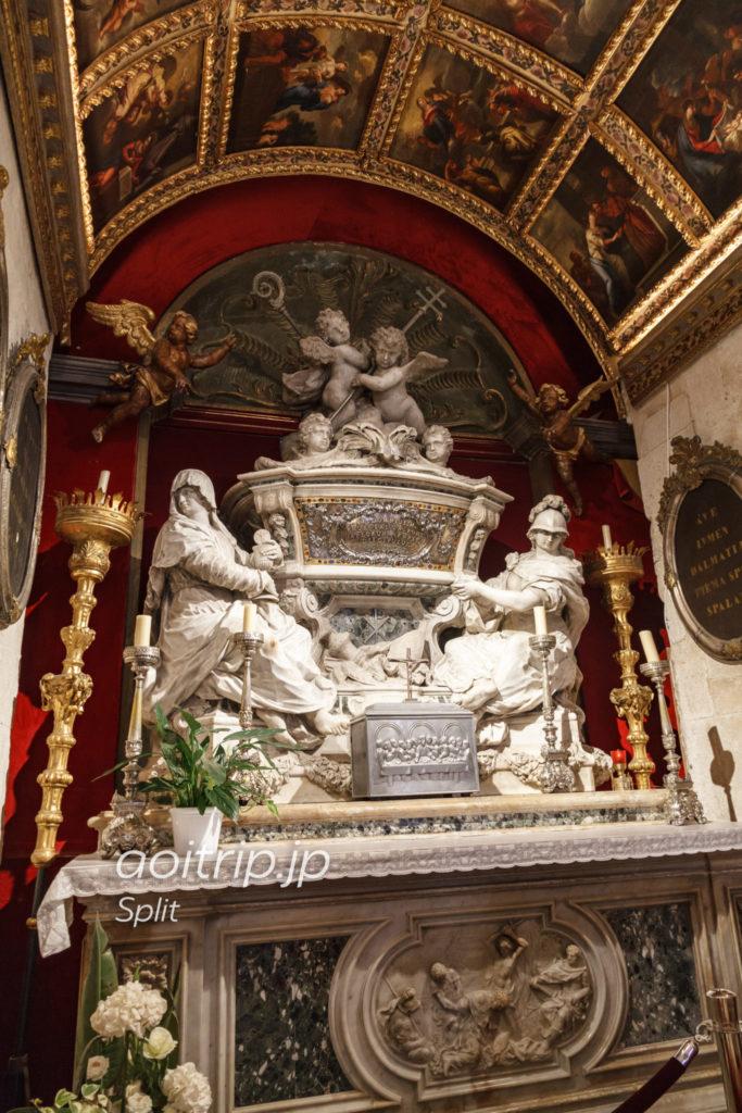 スプリット大聖堂 聖スタシュの祭壇