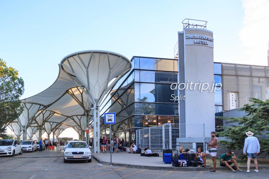 クロアチア スプリット空港