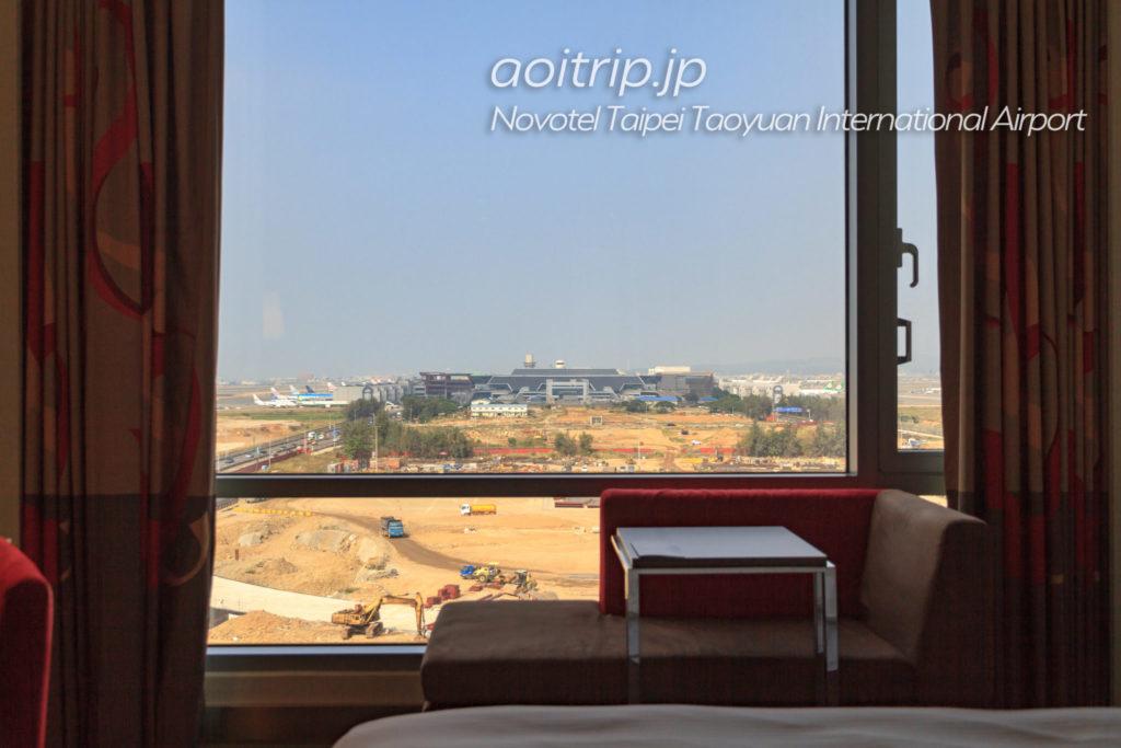 ノボテル台北桃園国際空港 お部屋からの眺望