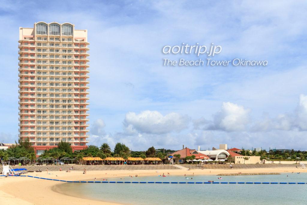 ザビーチタワー沖縄と北谷サンセットビーチ