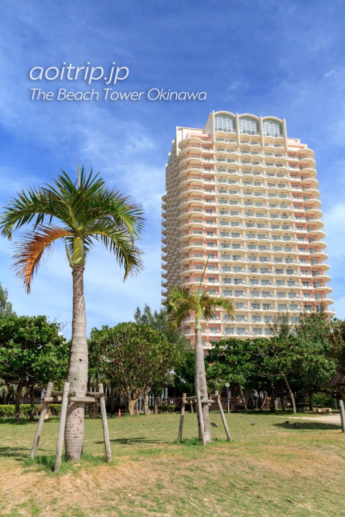 ザビーチタワー沖縄 ホテル外観