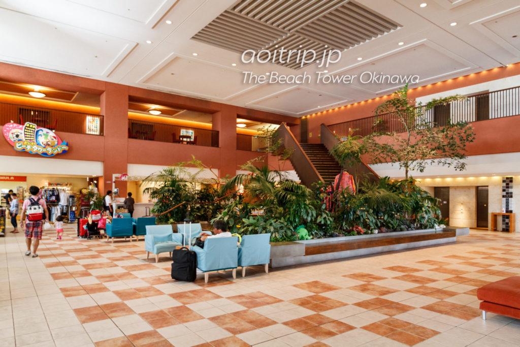 ザビーチタワー沖縄 ホテルフロント