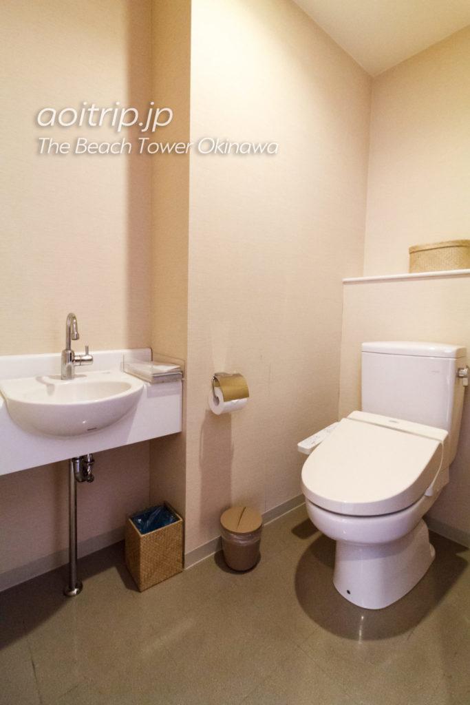 ザビーチタワー沖縄 トイレ