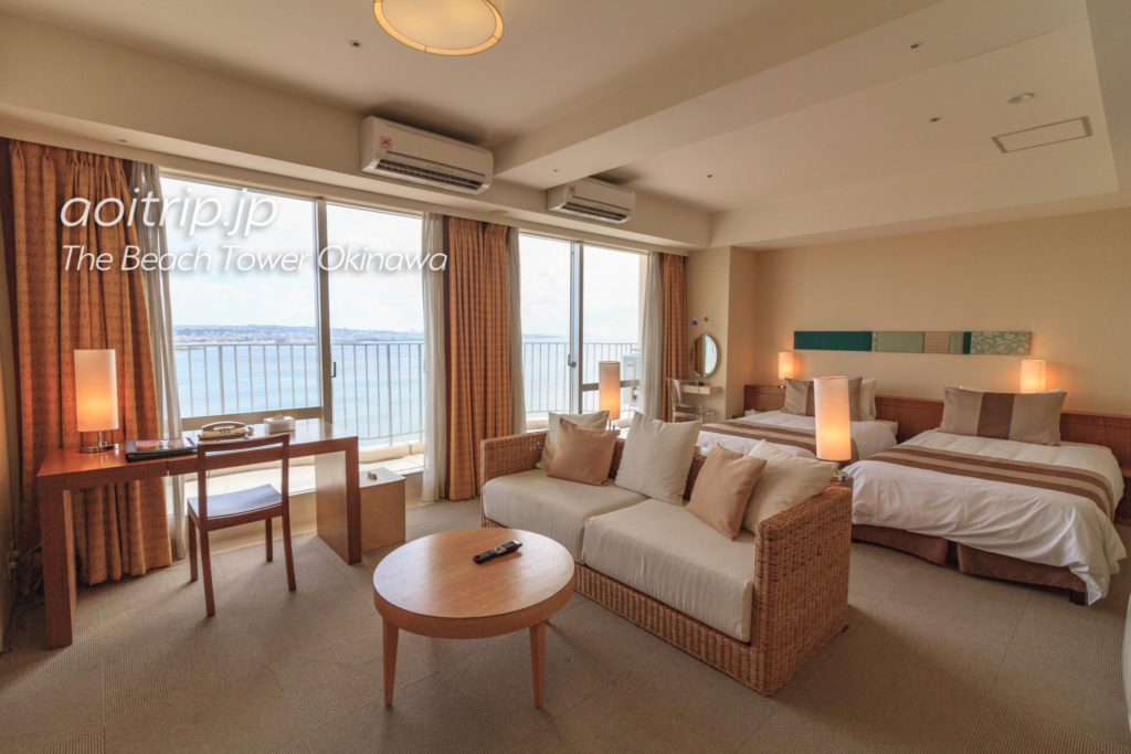 ザビーチタワー沖縄 エグゼクティブツインのお部屋