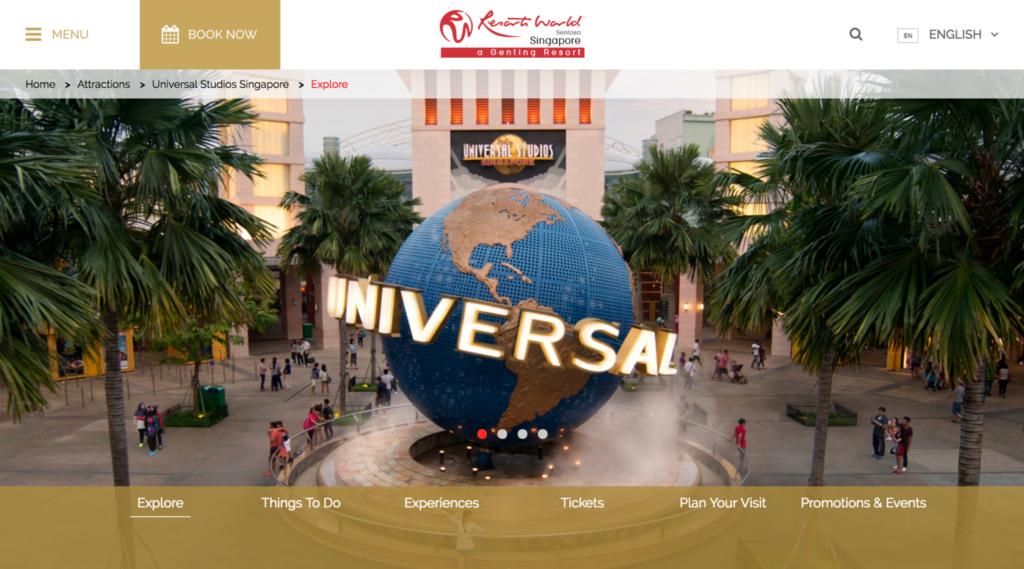 ユニバーサルスタジオシンガポールのチケット購入方法