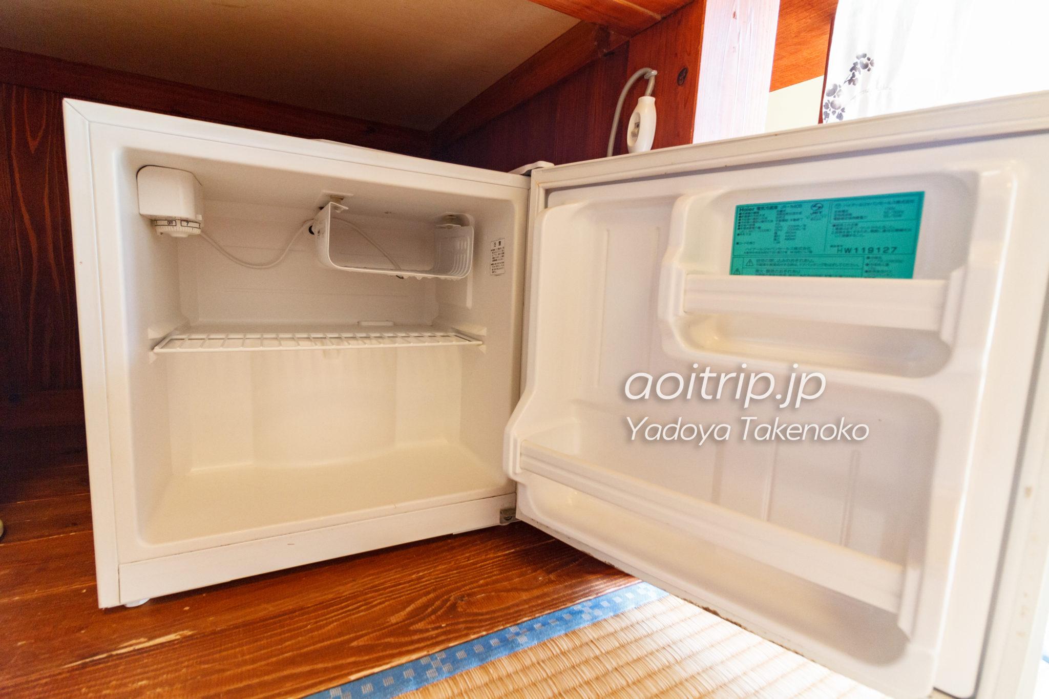竹富島やど家たけのこの冷蔵庫