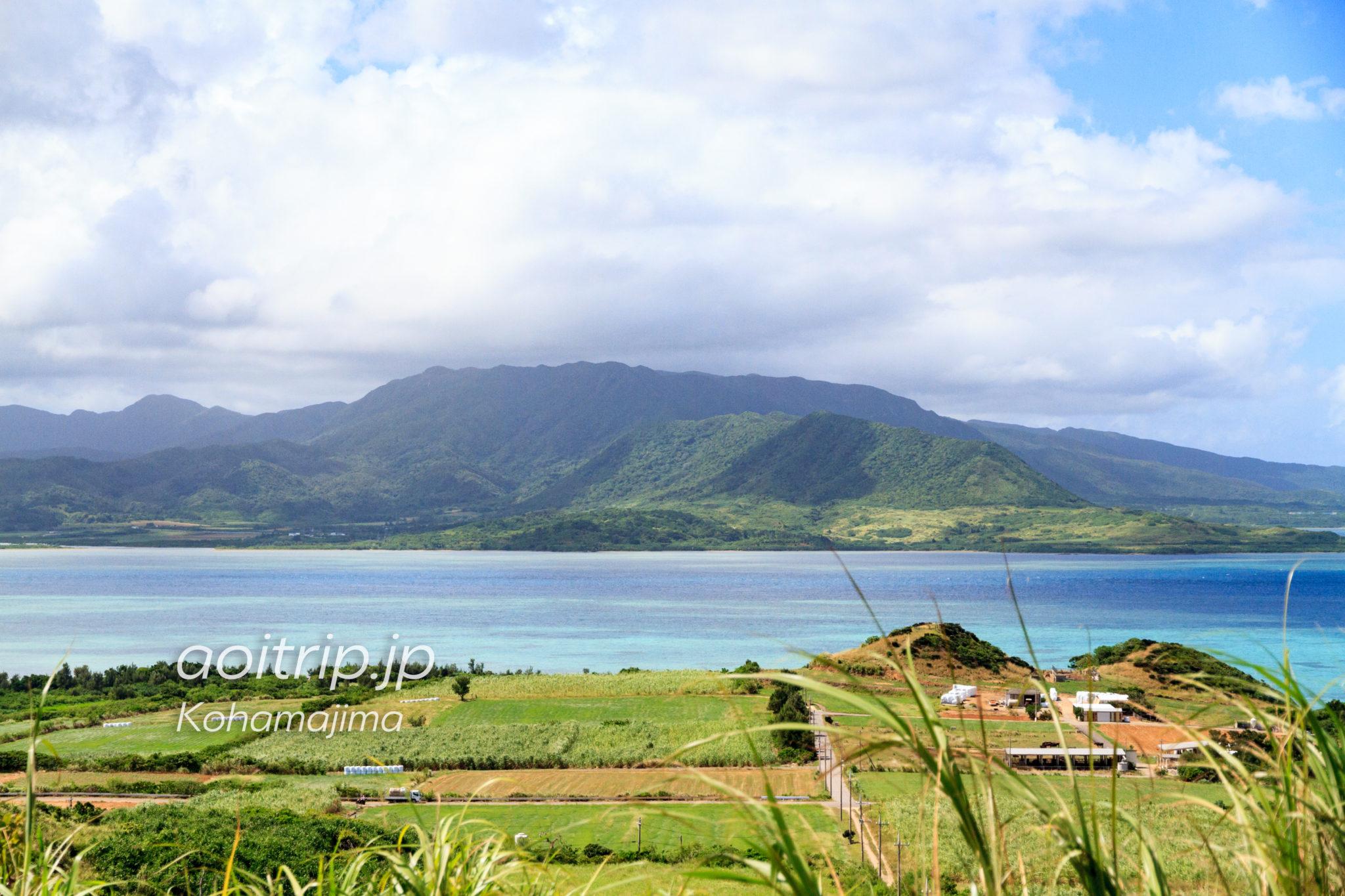 小浜島 西大岳からの眺望