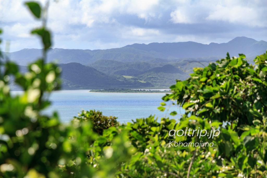 小浜島 大岳から見る由布島
