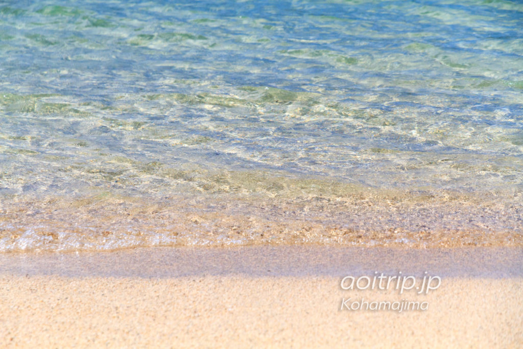 小浜島 細崎ビーチ