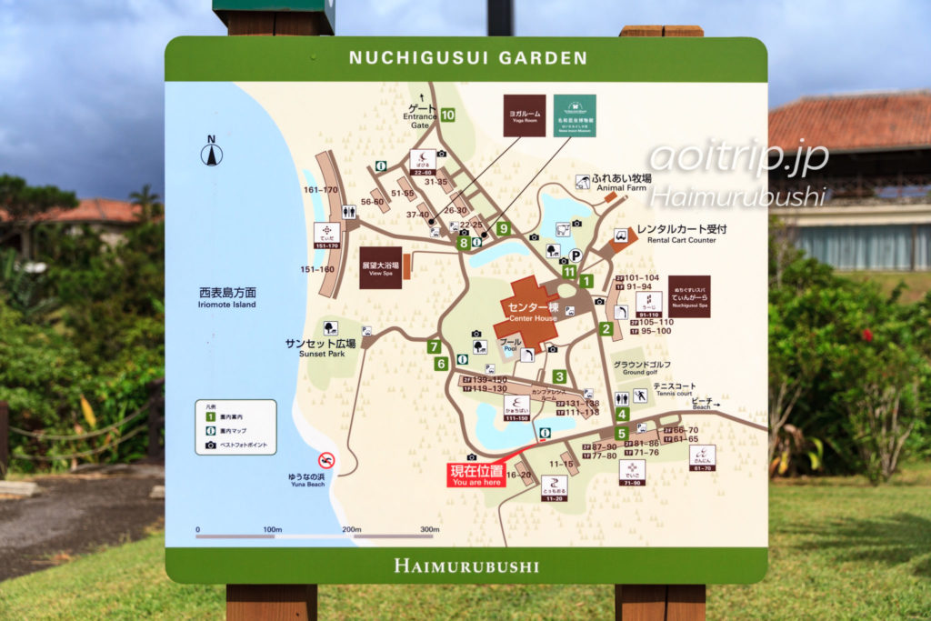 はいむるぶし ホテルマップ(地図)