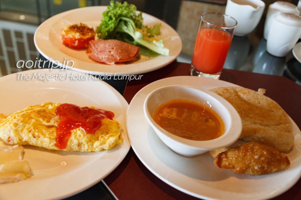 ザマジェスティックホテルクアラルンプール 朝食
