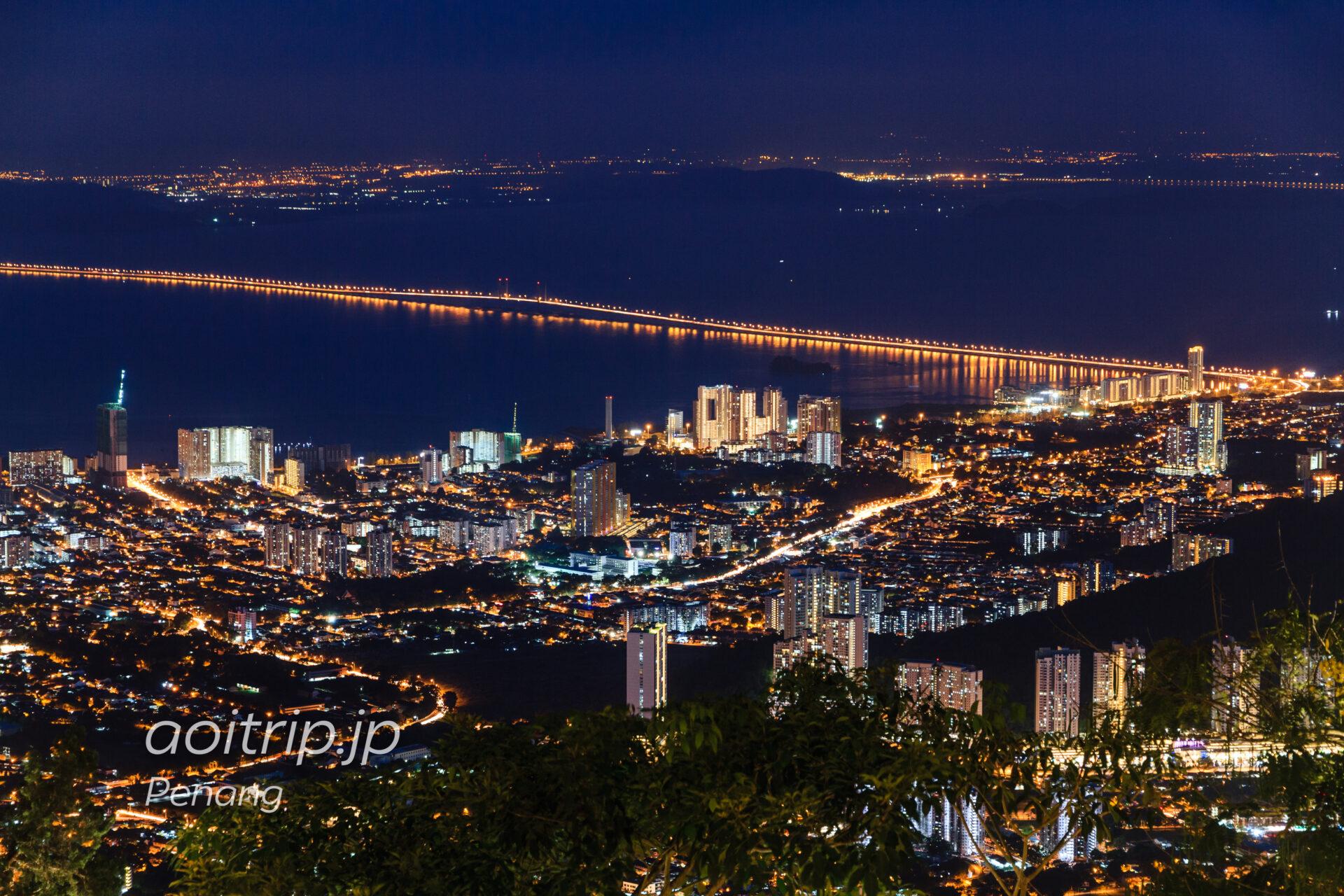 ペナンヒルの夜景