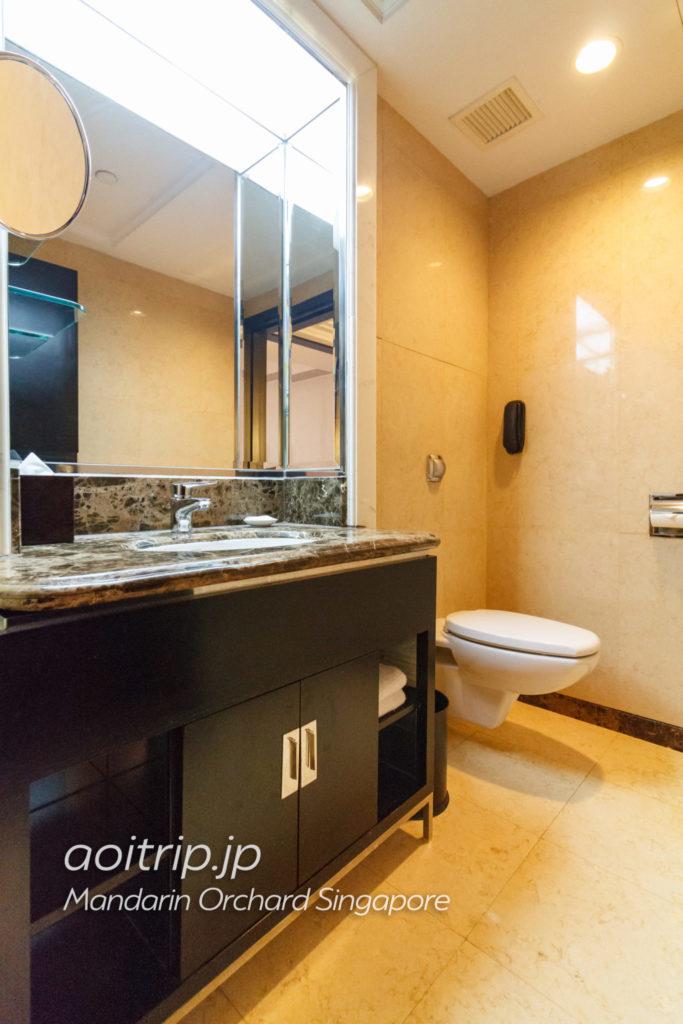 マンダリンオーチャードシンガポール バスルーム