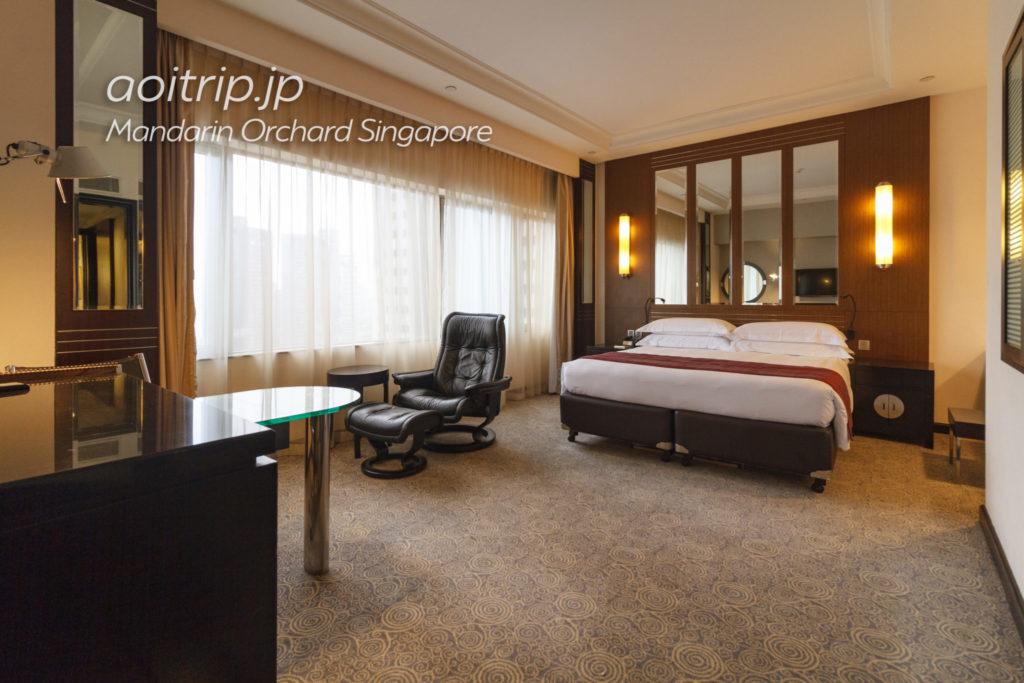 マンダリンオーチャードシンガポールのお部屋