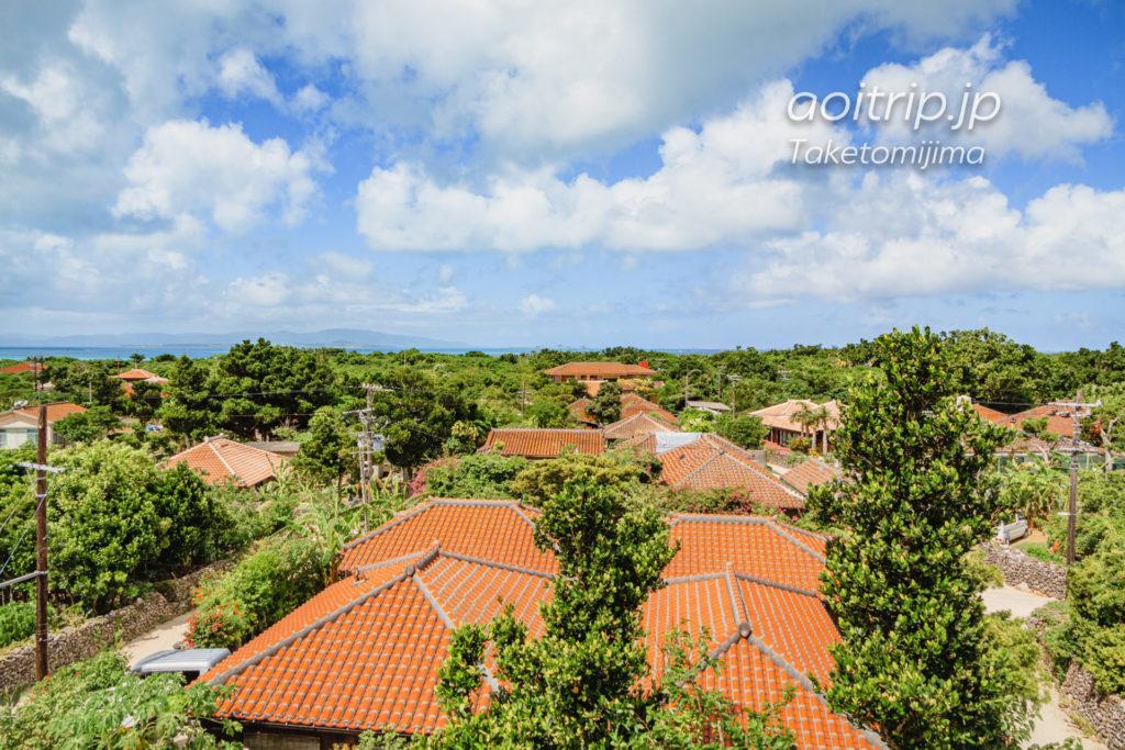 竹富島 あかやま展望台からの眺望