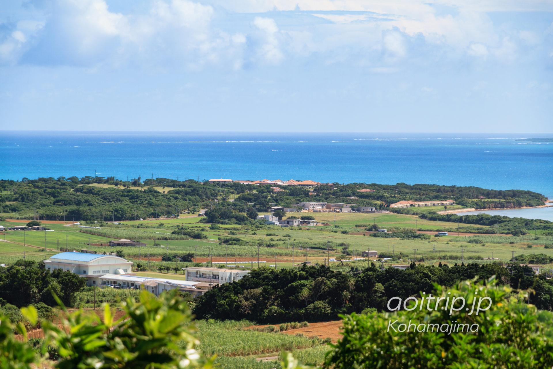 小浜島 大岳からの眺望