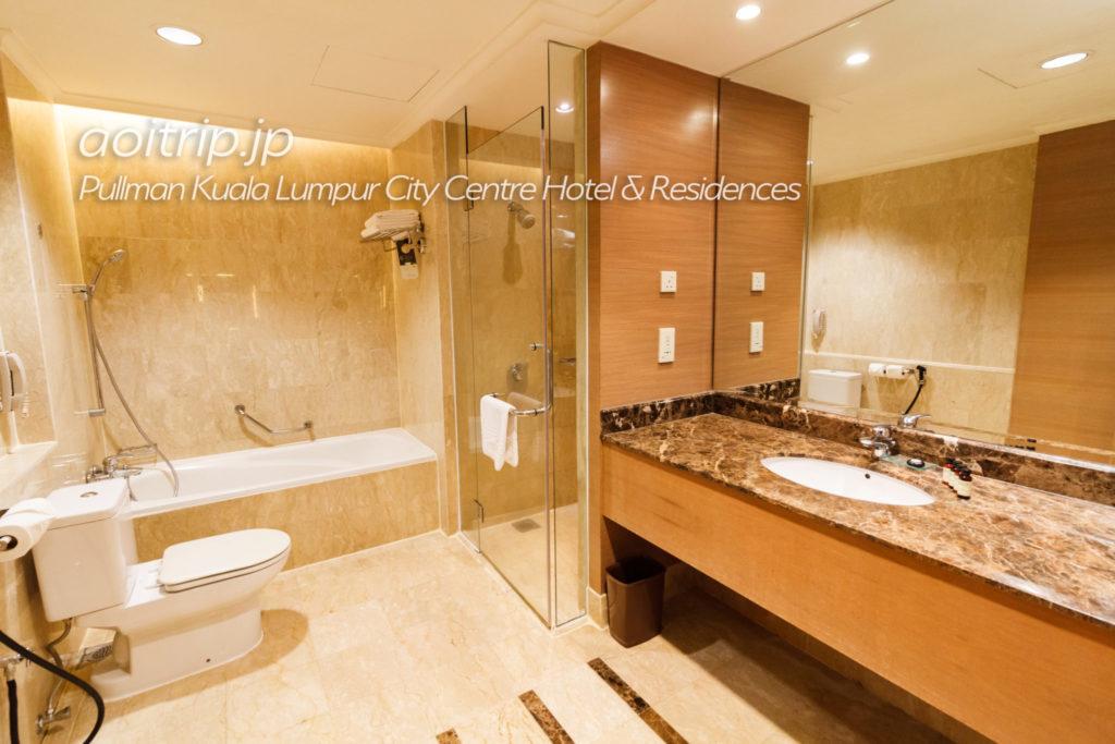 プルマンクアラルンプールシティセンター バスルーム