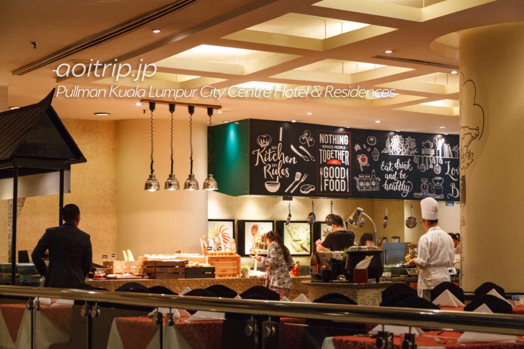 プルマンクアラルンプールシティセンター 朝食