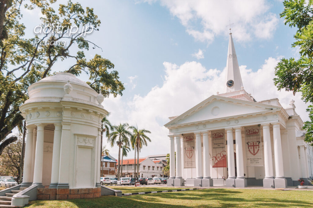ペナン島 セントジョージ教会