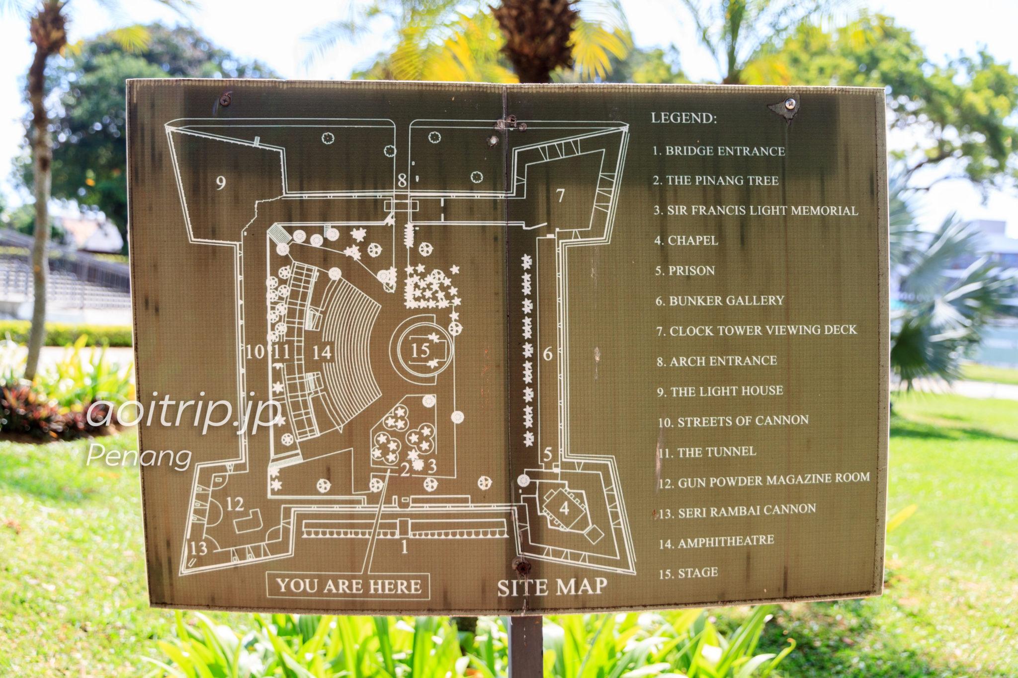 コーンウォリス要塞 Fort Cornwallis