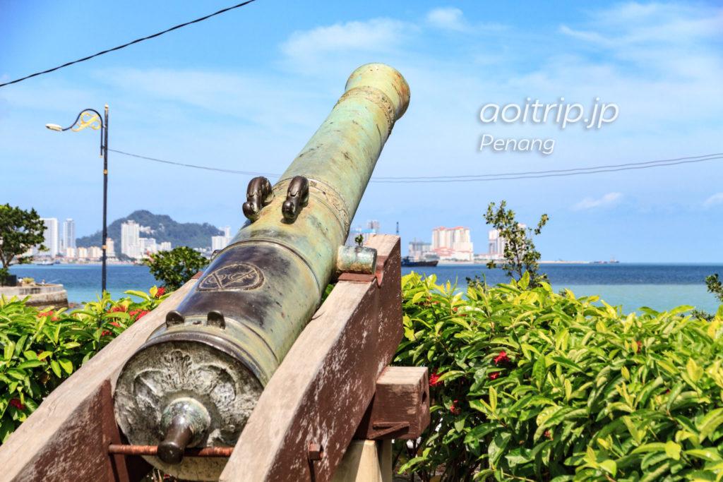 コーンウォリス要塞 スリランバイキャノン