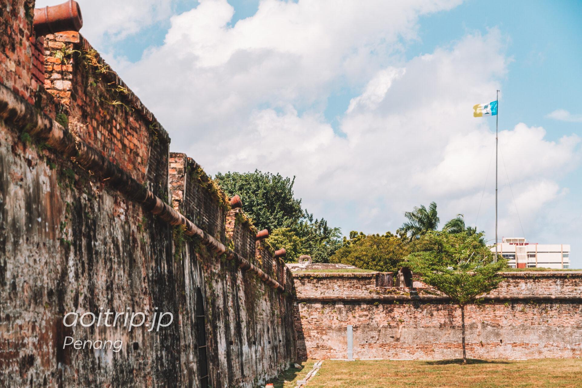 ペナン島 コーンウォリス要塞