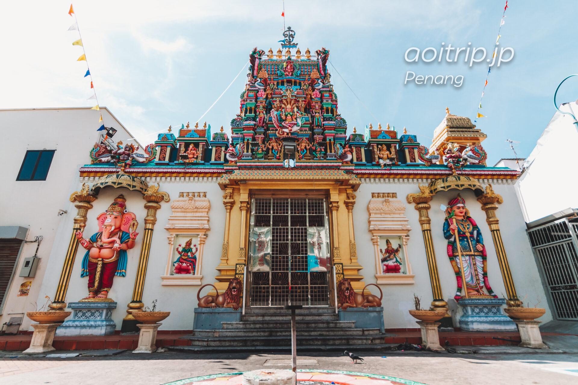 ペナン島 ヒンドゥー寺院