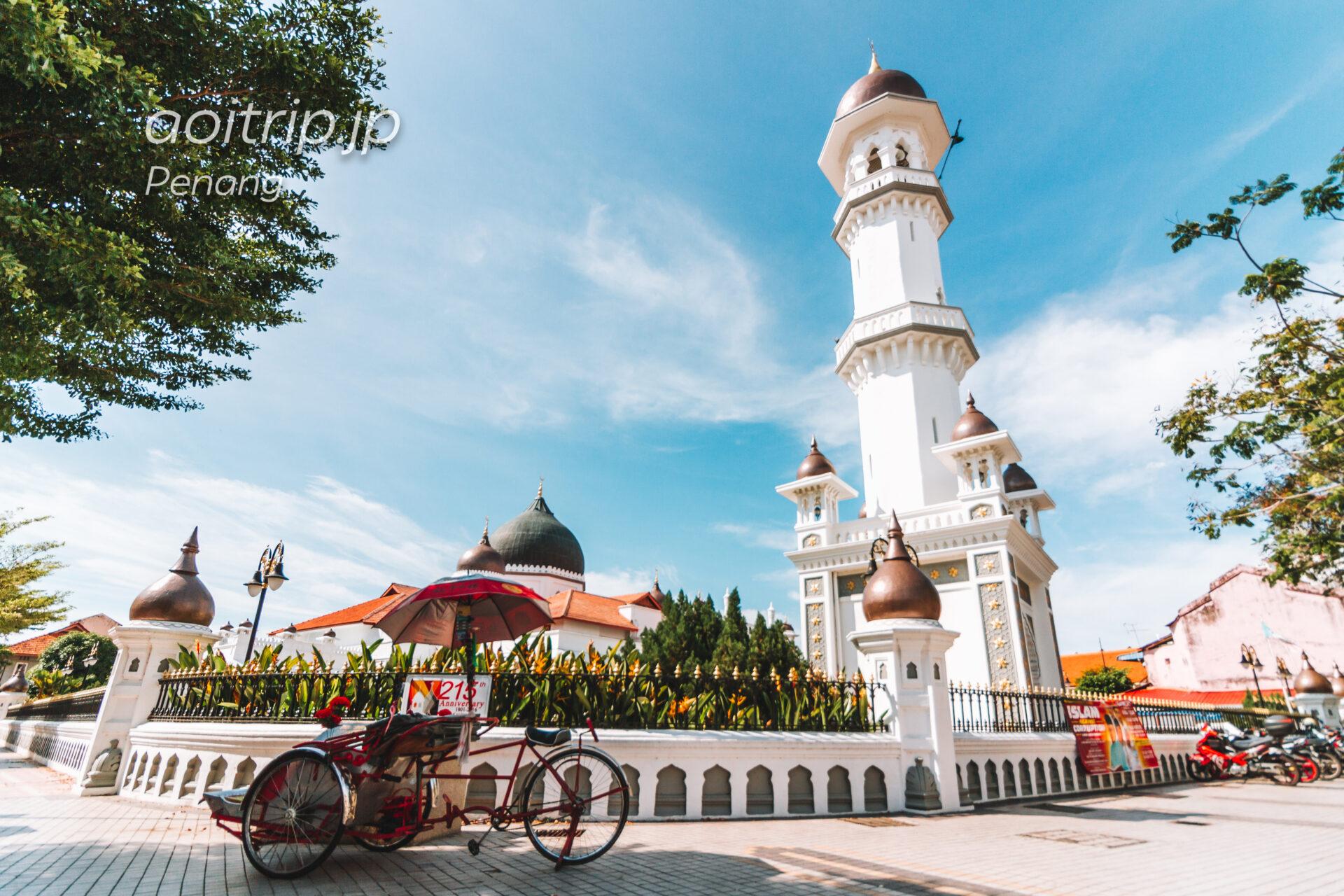 カピタン クリン モスク Kapitan Kling Mosque