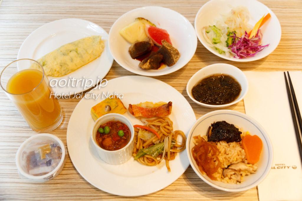 ホテルJALシティ那覇の朝食