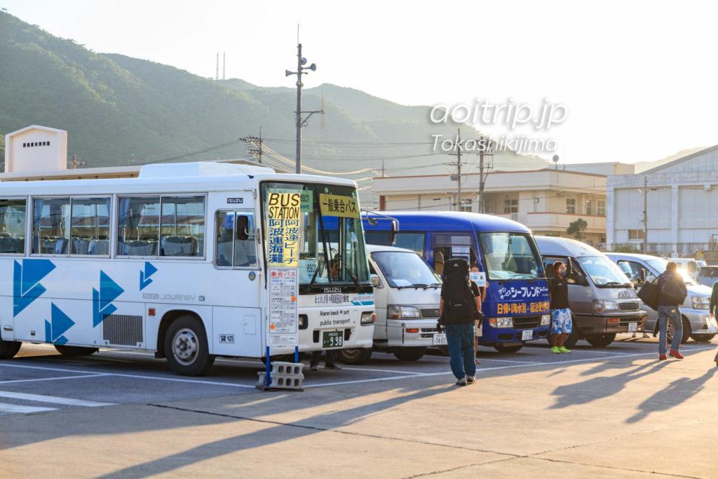 渡嘉敷港 バス停車場