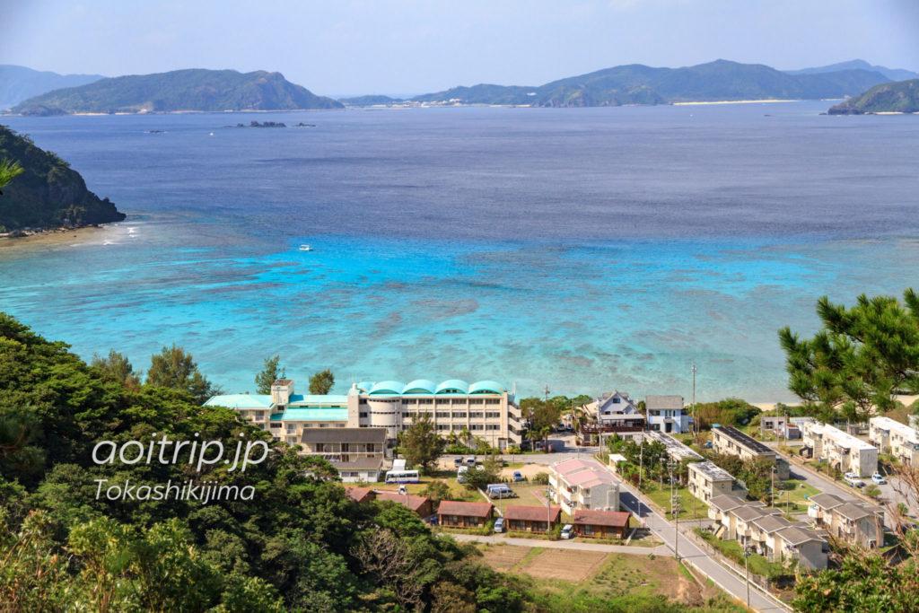 渡嘉敷島の渡嘉志久ビーチ
