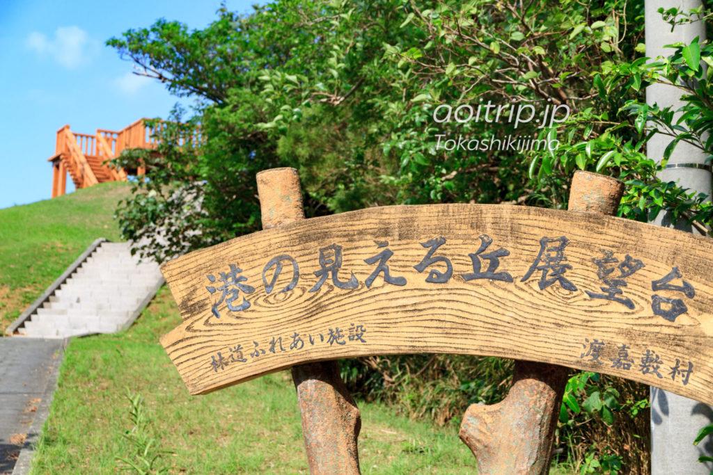渡嘉敷島 港の見える丘展望台